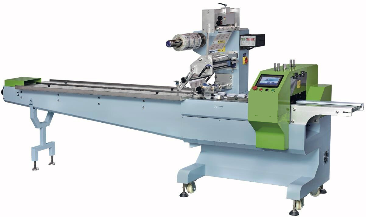 Horizontal packaging machines
